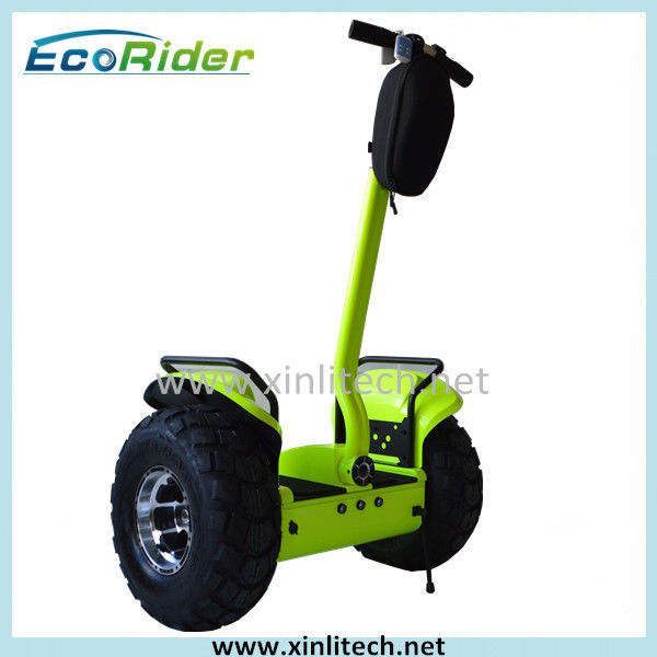 Green Personal Mobility Vehicle Standing 2 Wheel Electric Scooter