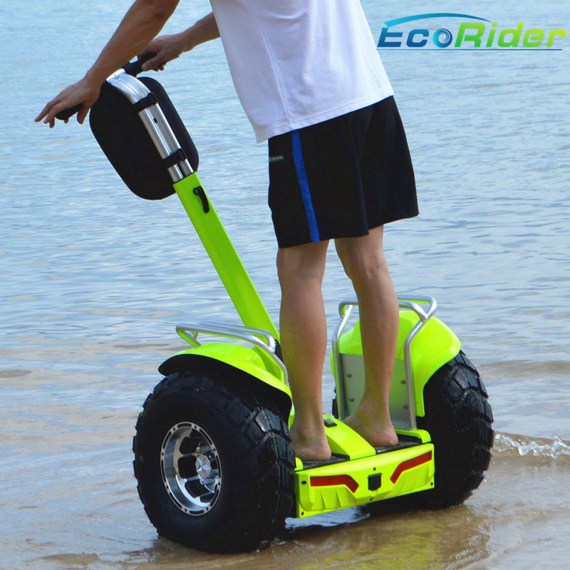 Waterproof Electric Self Balancing Scooter Apple Green Off Road CE Approved
