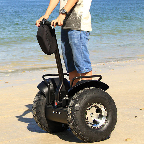 Powered Unicycle Electric Scooter Black Customized Three Driving Modes