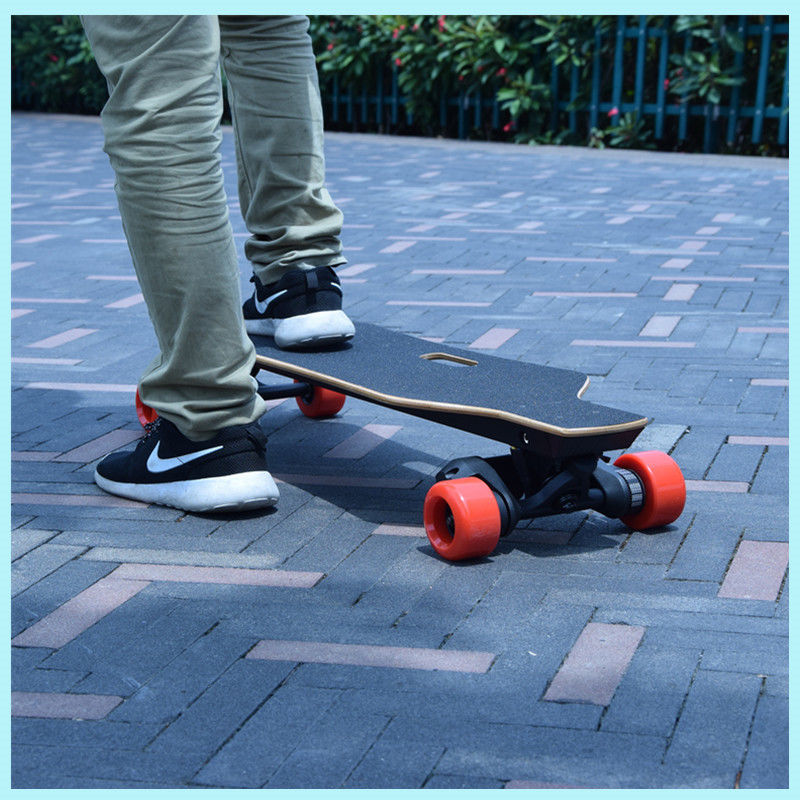 Indoor electric 4 Wheel Skateboard / Longboard with Samsung Lithium