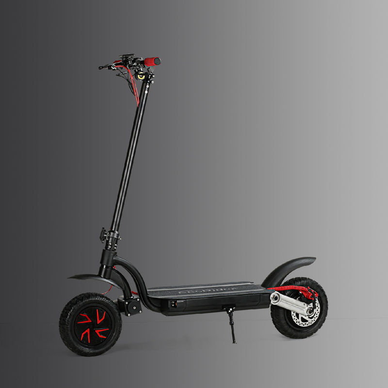 Portable Folding 2 Wheel Electric scooter Dual Motor With Double Battery 50 km/h 23kg