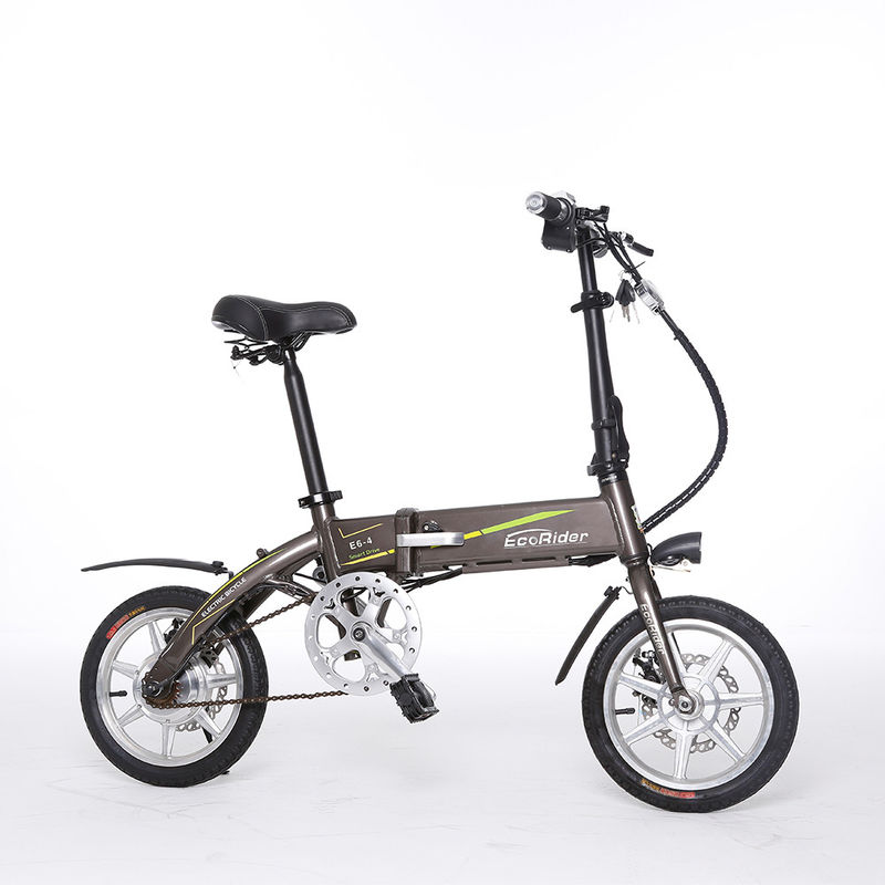Chopper Electric Mountain Bike , Small Folding Electric Bike Max Load 120kg
